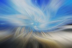 Sztuka piękna abstrakta tło niebieski white Zdjęcia Royalty Free