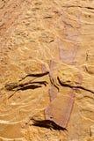sztuka piaskowiec Zdjęcia Royalty Free