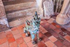 Sztuka przy Haw Pha Kaeo lub Wat Pha Kaeo w Laos fotografia stock