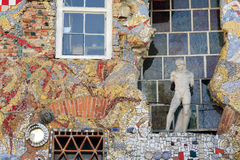 Sztuka przy Metelkova Miastem w Ljubliana Fotografia Stock
