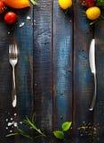Sztuka Restauracyjny cukierniany menu Obrazy Stock