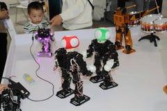 Sztuka robot obraz stock