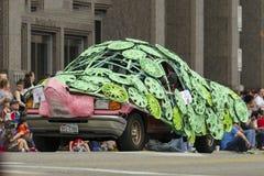 Sztuka samochód Obrazy Royalty Free