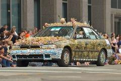 Sztuka samochód Fotografia Stock