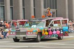 Sztuka samochód Zdjęcie Stock