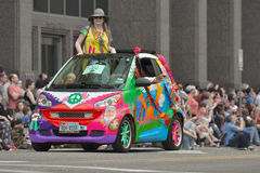 Sztuka samochód Obrazy Stock