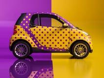 Sztuka samochód obraz royalty free
