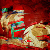 Sztuka skład abstrakcjonistyczny tło Fotografia Royalty Free