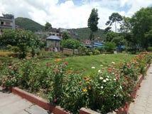 Sztuka sklep W Nepal Pokhara zdjęcie royalty free