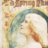 sztuka splendoru nouveau kobieta Obrazy Stock