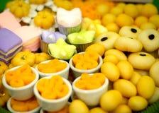 Sztuka Tajlandzcy słodcy desery Obraz Royalty Free