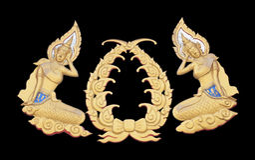 sztuka tajlandzka Fotografia Stock