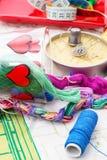 Sztuka tkactwo i dzierganie Zdjęcia Royalty Free