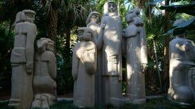 Sztuka w Ann Norton rzeźby ogródach, Zachodni palm beach, Floryda Zdjęcia Stock