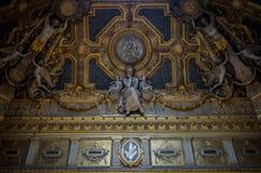 Sztuka w louvre muzeum, Paryż, Francja fotografia royalty free