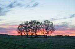 Sztuka wiejski krajobraz Fotografia Royalty Free