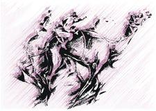 sztuka wielbłąd Zdjęcia Stock
