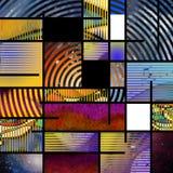Sztuka Współczesna abstrakt ilustracji
