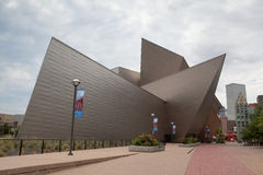 Sztuka współczesna i nowożytna architektura w Denver Obrazy Royalty Free
