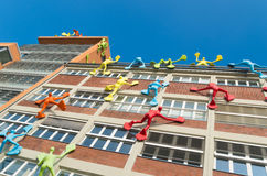Sztuka współczesna na budynku Zdjęcie Royalty Free