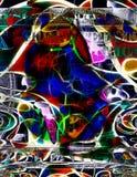 Sztuka Współczesna pieniądze abstrakt Fotografia Stock