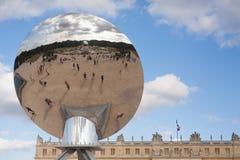 Sztuka współczesna w Versailles parku Obrazy Royalty Free