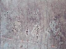 Sztukateryjnego skutka popielata gipsująca krakingowa textured betonowa powierzchnia fotografia stock