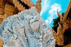 Sztukateryjny Phraya Nak Obrazy Stock