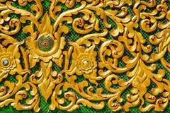 Sztukateryjny projekt na świątyni ścianie obrazy royalty free