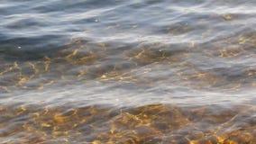 Sztuki światło na wodzie zdjęcie wideo