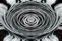 sztuki abstrakcjonistycznej graficzna mistyczna tapeta Obraz Royalty Free