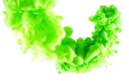 sztuki abstrakcjonistycznej green Fotografia Stock