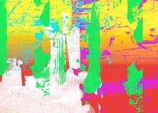 sztuki abstrakcjonistycznej szczegół Zdjęcie Royalty Free