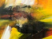 sztuki abstrakcjonistycznej tło Ręka rysujący akrylowy obraz Zdjęcie Stock