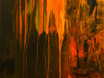 sztuki abstrakcjonistycznej tło Ręka rysujący akrylowy obraz Fotografia Royalty Free