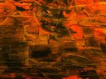 sztuki abstrakcjonistycznej tło Ręka rysujący akrylowy obraz Obraz Royalty Free