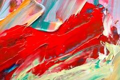 sztuki abstrakcjonistycznej tło Zdjęcie Royalty Free