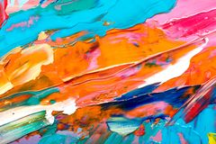 sztuki abstrakcjonistycznej tło Obrazy Royalty Free