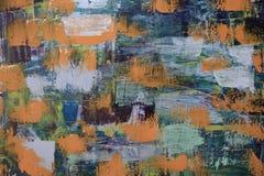 sztuki abstrakcjonistycznej tło Zdjęcie Stock