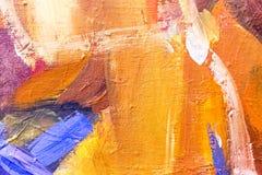 Sztuki abstrakcjonistyczny kolorowy wibrujący Zdjęcia Stock