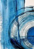 Sztuki bakground malująca tło ręka Czerep grafika zdjęcie stock