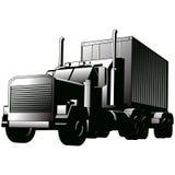 sztuki ciężarówki wektor ilustracji