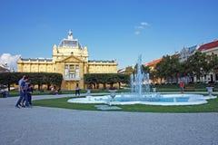 sztuki Croatia pawilon Zagreb Fotografia Stock