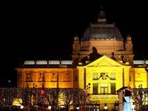 sztuki Croatia pawilon Zagreb Obraz Stock