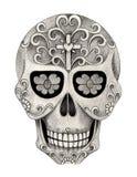 Sztuki czaszki dzień nieboszczyk Obraz Stock