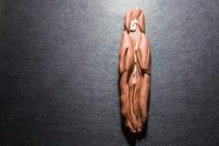 Sztuki doh Piernikowego mężczyzna ewolucja 2 Zdjęcie Stock