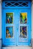 Sztuki drzwi Zdjęcie Royalty Free