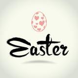 sztuki Easter bezpłatnych listów wektorowy writing Obrazy Royalty Free
