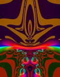 sztuki fractal obcych Obrazy Stock