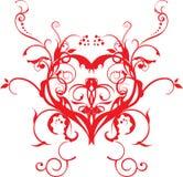 sztuki grafiki backround miłości wektor Fotografia Royalty Free